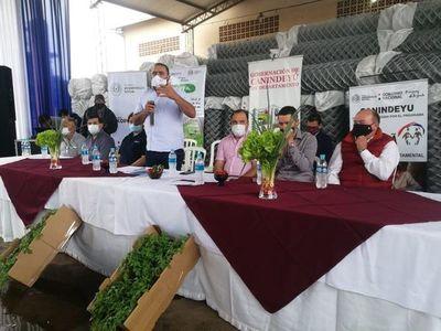 Lanzan programa agrícola en Canindeyú