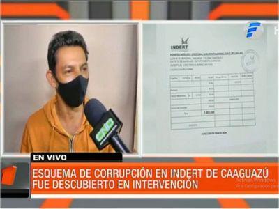 Intervienen Indert de Caaguazú por supuesto esquema de corrupción