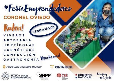 Realizarán Feria de Emprendedores en Coronel Oviedo – Prensa 5