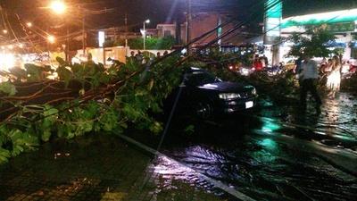 Ande confirma pérdidas de más de Gs. 4.752 millones causadas por temporal
