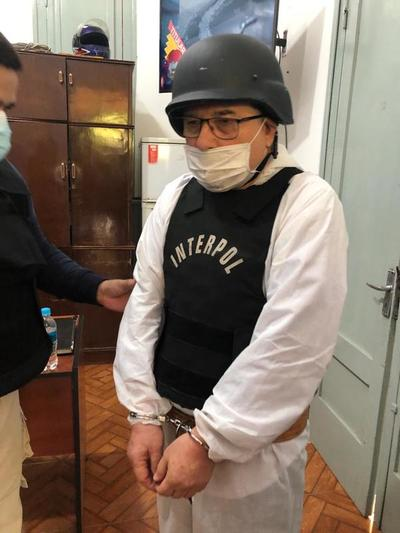 """Extraditan al Brasil a narco paraguayo integrante del """"Comando Vermelho"""""""