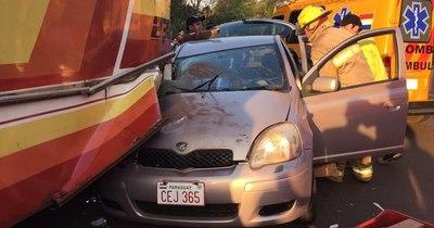La Nación / Bomberos reportaron más de mil accidentes de tránsito este año en Alto Paraná
