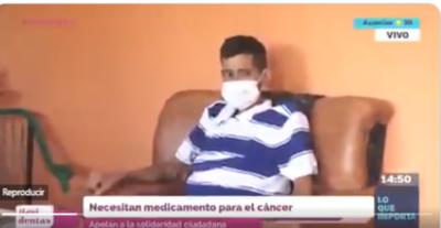 HOY / Joven con cáncer precisa un costoso medicamento y apela a la solidaridad ciudadana