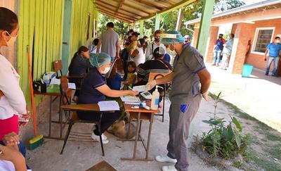 Exitosa jornada de Atención Médica Gratuita en Caazapá