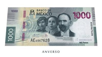 Banco de México presenta nuevo billete con motivos de la Revolución Mexicana