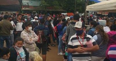 La Nación / La lucha de los comerciantes fronterizos de Encarnación por sobrevivir a la pandemia