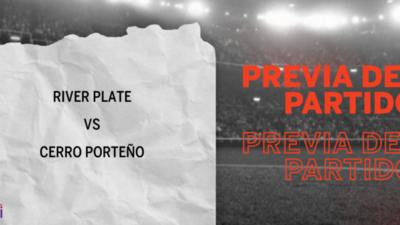 Por la Fecha 7 se enfrentarán River Plate y Cerro Porteño