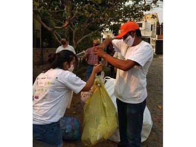 Juntan 21.000 kilos de material en campaña de reciclaje en barrios