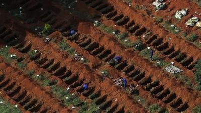 COVID-19 en EEUU: Confirman más de 2.000 muertes en las últimas 24 horas