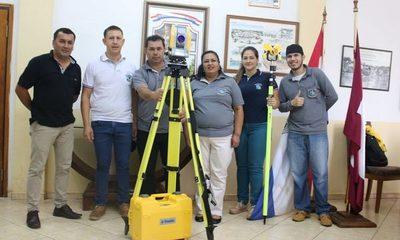 Intendente de Franco adquiere nuevo equipamiento de trabajo para catastro – Diario TNPRESS