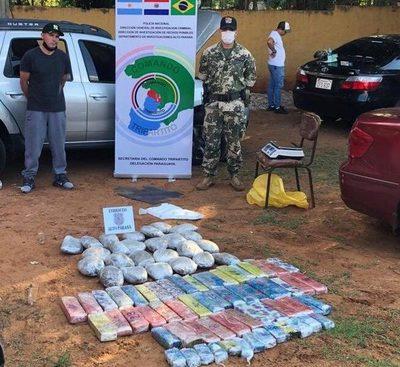 Detienen a brasileño con marihuana prensada en la zona primaria de Ciudad del Este – Diario TNPRESS