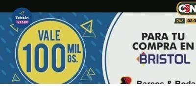 Bristol junto con Barcos y Rodados se unen para regalarte la promo 100x100
