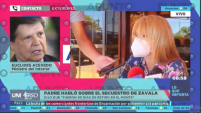 HOY / Euclides Acevedo, ministro del Interior, sobre ofrecimiento del Pa'i Pablito