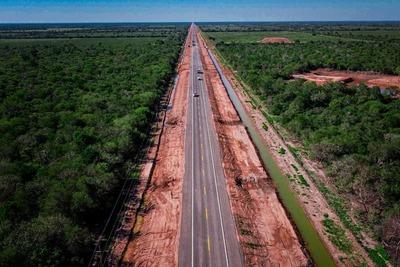 Habilitan nuevo tramo de Ruta Bioceánica en Loma Plata