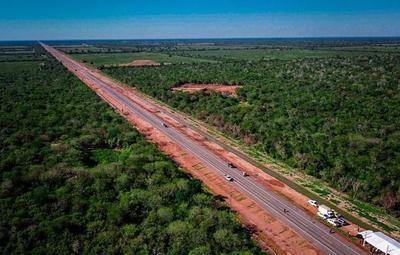 En Boquerón, habilitan nuevo tramo de Ruta Bioceánica