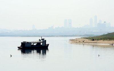 Nivel del río Paraguay llegó a los 14 centímetros en Asunción