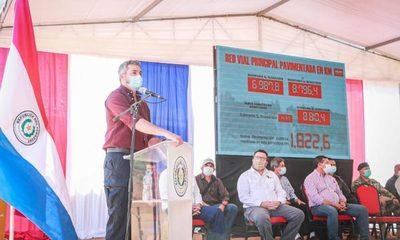 Marito asegura que obras públicas genera mayor equidad