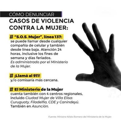 Suman casi 15.000 denuncias de violencia contra la mujer en lo que va del año