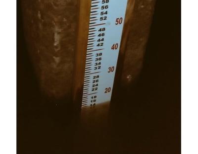 Río Paraguay subió 20 centímetros en dos días