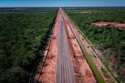 Ruta Bioceánica completa 120 kilómetros tras inauguración de nuevo trayecto en Loma Plata
