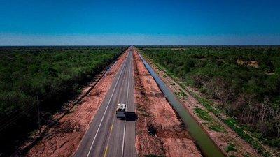 Gobierno habilita nuevo tramo concluido de la Bioceánica que ya alcanza 120 km