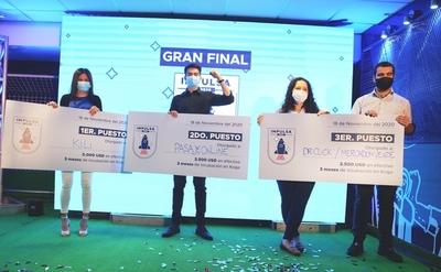 Cervepar premia a cuatro emprendimientos en la gran final de Impulsa