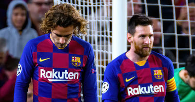 Hinchas del Barcelona increpan a Antoine Griezmann: 'A Messi se le respeta'