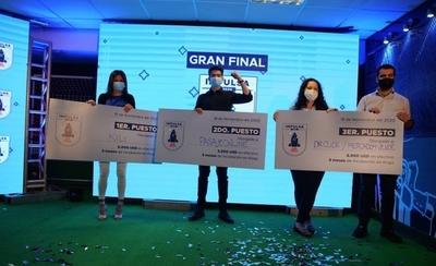 HOY / Cervepar premió a cuatro emprendimientos en la gran final de Impulsa