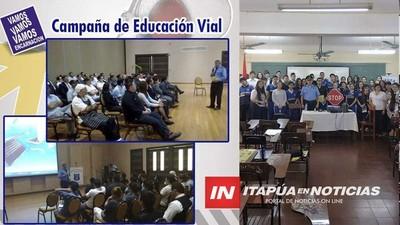 POLICÍA MUNICIPAL DE ENCARNACIÓN RECIBE DISTINCIÓN POR SU ENFOQUE EN SEGURIDAD VIAL