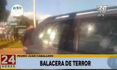 Ataque armado deja un fallecido y víctimas colaterales en Pedro Juan