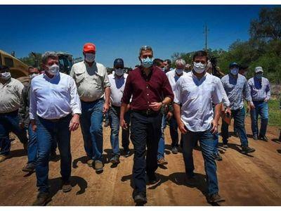 Abdo desafía y pide que se muestren sus  tierras ilegales