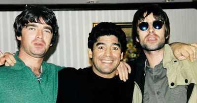 La vez que Maradona amenazó de muerte a los hermanos Gallagher