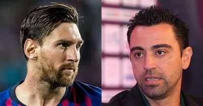 El proyecto que podría volver a juntar a Xavi con Messi en el Barcelona