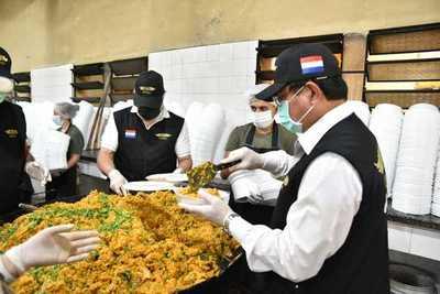 Paraguay solidario superó los 331.000 platos entregados en los últimos siete meses