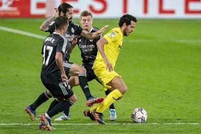 Real Madrid empató ante Villarreal y sigue frenado