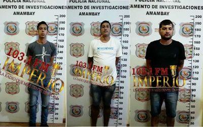 Detienen a sospechosos de haber participado del atentado criminal de ayer