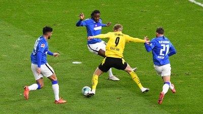Cuatro goles de Haaland sentencian al Hertha de Alderete