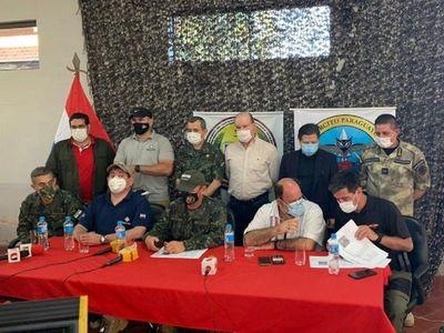Agentes de la FTC vieron 8 siluetas durante enfrentamiento
