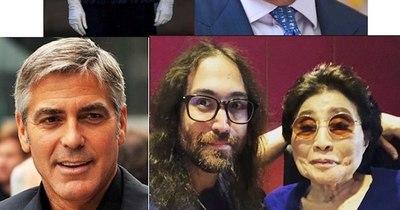 La Nación / Carolina, bella con sus canas; Carlos, furioso; George Clooney es el mejor y Yoko se retira
