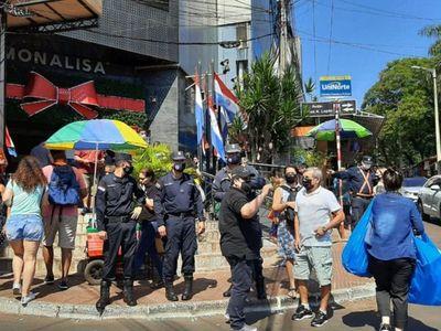 Fuerte operativo en Ciudad del Este para eliminar las estafas a turistas