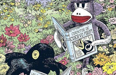 'Mono de trapo', de Tony Millionaire. La juguetería mágica