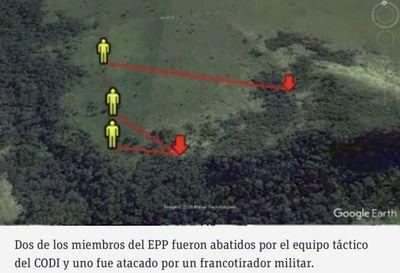 Así ocurrió el enfrentamiento entre el CODI y el EPP