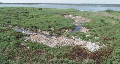 La Bahía de Asunción se convirtió en un vertedero