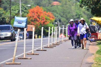 Varios peregrinos, pese a advertencias de no ir a Caacupé