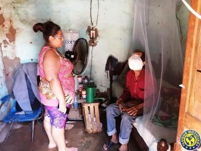 Albañil tiene cáncer, necesita ayuda y debe ser internado •