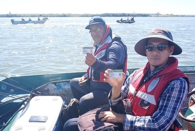 Controlan cumplimiento de la veda pesquera en Ñeembucu