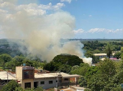 Aumentan denuncias por quema de basura en CDE