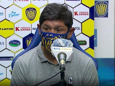 Conferencia de prensa de Luis Escobar