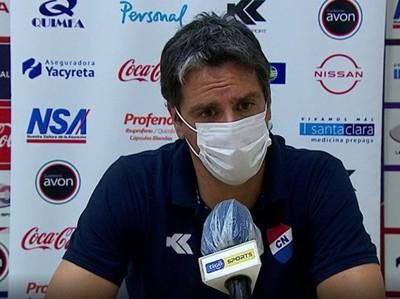 Conferencia de prensa de Rodrigo López