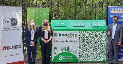 La Nación / Interfisa Banco instala un Ecopunto®